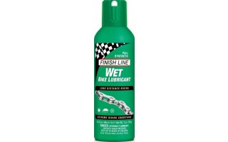 Finish line wet spray