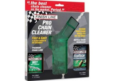 Finish line cleaner
